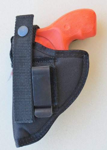 "Federal Holster for 2"" Revolvers 38 & 357, Rossi, Charter Arms,S&W-5/6 Shot,Small Frame (J Frame) No Laser"