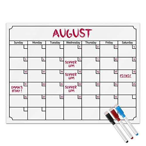 Calendario Magnético Mensual Para Etiqueta