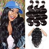 Perstar Brazilian Body Wave Human Hair Bundles 100% Human Hair Extensions 100g/bundle Natural