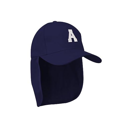 d23e5bdb Morefaz Junior Legionnaire Style Baseball Cap Nave A-Z Letter Boy Girl Children  Summer Sun Hat UV