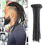 Extension rasta da 30 cm, per capelli da uomo, confezione da 10 pezzi, rasta sintetici fatti a mano, per acconciature in stile Hip-hop e reggae dalla cultura Maya
