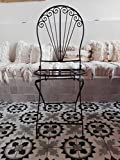 L'Orient Sillón de hierro forjado Alhambra