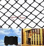Escalier garde-corps filet de football basket-ball cour clôture construction filet de sécurité maternelle...