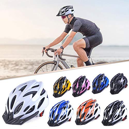Schöner leichter Fahrradhelm für Herren und Damen Einheitsgröße weiß