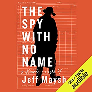 The Spy with No Name audiobook cover art