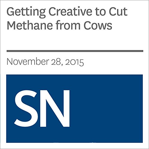 Getting Creative to Cut Methane from Cows audiobook cover art
