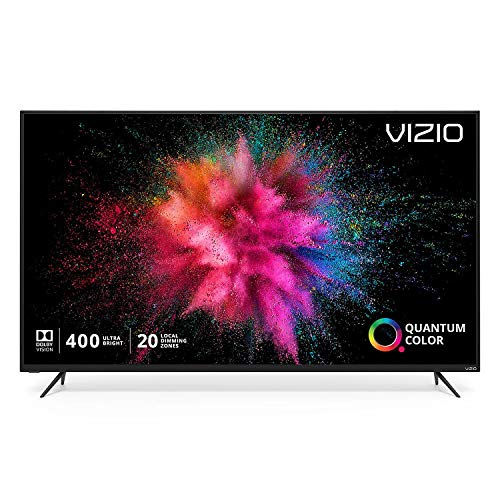 Vizio - M657-G0 - VIZIO M M657-G0 64.5 Smart LED-LCD TV - 4K UHDTV - Black - Quantum Dot LED Backlight - Google Assistant, Alexa Supported