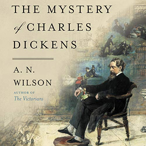The Mystery of Charles Dickens audiobook cover art