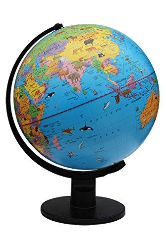 Bonetti Kinderglobus Globus mit Beleuchtung Ø 30 cm Weltatlas Kinder Einschulung Lernmittel