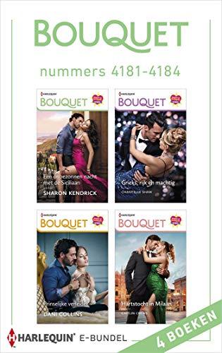 Bouquet e-bundel nummers 4181 - 4184 (Dutch Edition)