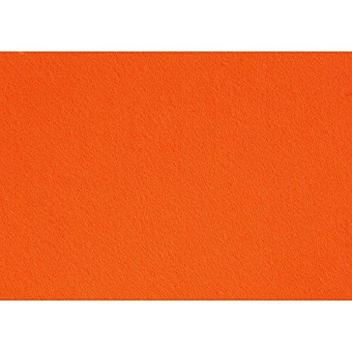 Creativ Company - Feltro, 10 pezzi, colore: arancione