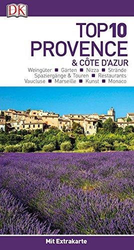 Top 10 Provence & Côte d'Azur: mit Extra-Karte und kulinarischem Sprachführer zum Herausnehmen