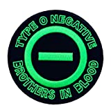 Type O Negative Band Music Rock Embroidered Iron/Sew-on Comics Cartoon Theme Logo Patch/Applique