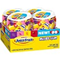 4-Pack Juicy Fruit Gum Mixies Fruity Chews Sugarfree Bottle