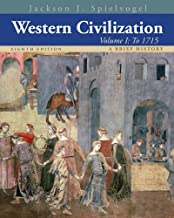 By Jackson J. Spielvogel - Western Civilization: A Brief History, Volume I: To 1715 (8th Edition) (12.2.2012)