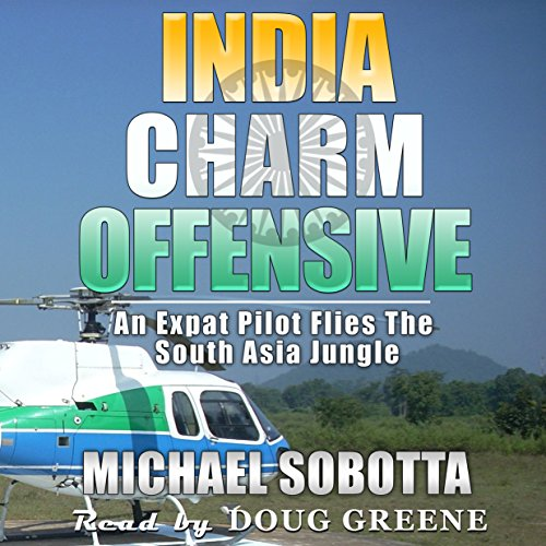 India Charm Offensive audiobook cover art