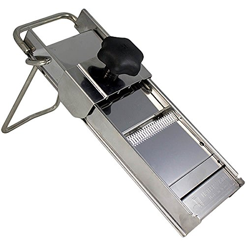 Matfer Bourgeat 215000 S/S Mandoline Vegetable Slicer, 18.8 x 5.9 x 2.7 inches, Silver