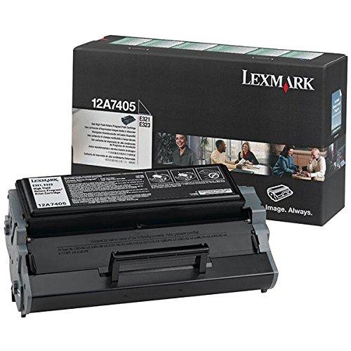 12A7405 Lexmark E321 Cartucho de Tóner negro