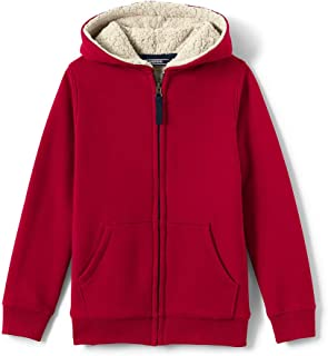 Lands' End Boys Sherpa Lined Hoodie