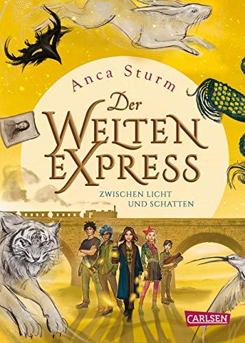Zwischen Licht und Schatten (Der Welten-Express 2)