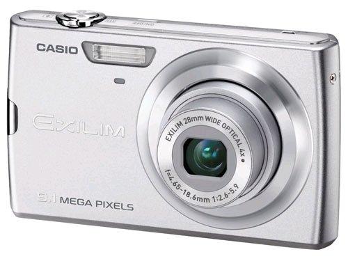 Casio EXILIM EX-Z250 Digitalkamera (9 Megapixel, 4-Fach Opt. Zoom, 7,6 cm (3 Zoll) Bildschirm, Bildstabilisator) Silber