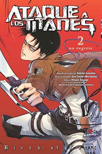 ATAQUE A LOS TITANES:02 NO REGRETS (Shojo Manga)