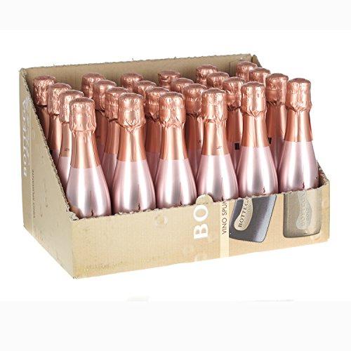 Bottega Rose Gold Sparkling Wine 20cl Miniature - 24 Pack