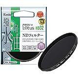 Kenko NDフィルター PRO1D Lotus ND32 55mm 光量調節用 撥水・撥油コーティング 絞り5段分減光 735527