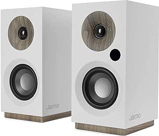 Jamo S 801 PM powered monitors (white)