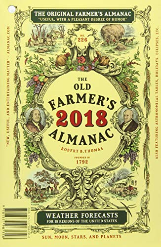 Download The Old Farmer's Almanac 2018 1571987355