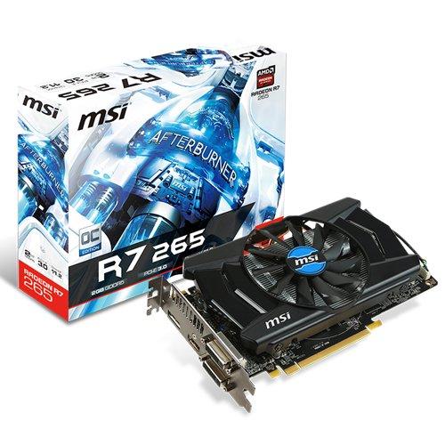 MSI R7 265 2GD5 OC AMD Radeon R7 265 2GB - Tarjeta gráfica (Activo, AMD, Radeon...