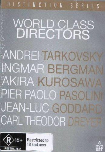 World Class Directors Collection (6 Films) - 8-DVD Box Set ( Solyaris / Vargtimmen / Derusu Uzara / Il Decameron / Week End / La passion de Jeanne d'Arc ) ( Solaris / The Hour of the Wolf / Dersu Uzala / The Decameron / Weekend / The Passio