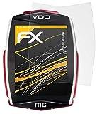 atFoliX Película Protectora Compatible con VDO M6 WL Lámina...