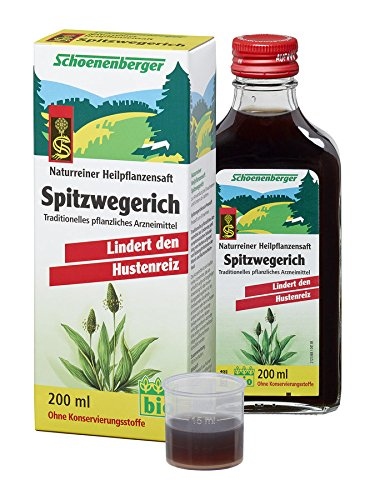 Wegerich Bio Fresh Pflanze Saft 200ml