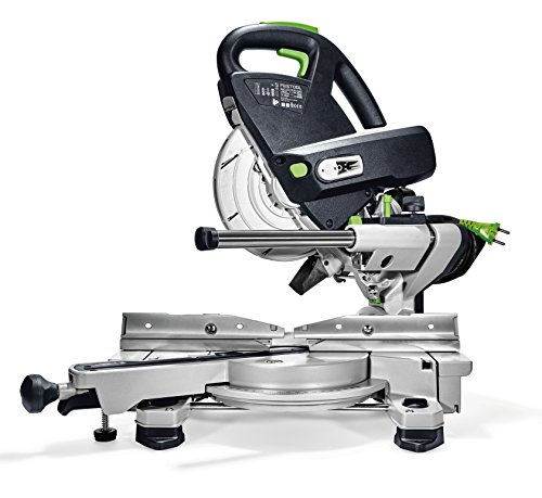 FESTOOL 561729 schuifdeur Compound verstekzaag KS 60 E-Set GB KAPEX, 240 V, meerkleurig
