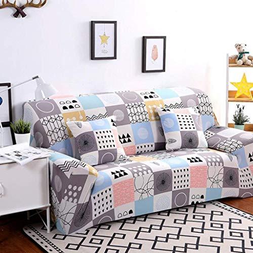 MKKM Fodera per la casa, fodera per divano, protezione antiscivolo per quattro stagioni Copridivano per divani copridivano elasticizzati universali,3 plazas 190-230cm (74-90inch)