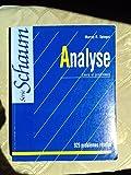Analyse, cours et problèmes