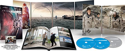 INTERSTELLAR Blu-ray+DVD+Digital...