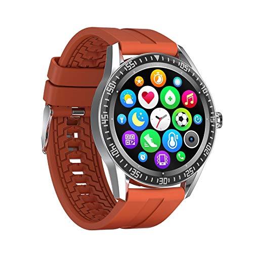 Smartwatch, Con Pantalla A Color De 1,28 Pulgadas, Material De Aleación De Zinc, Reloj A Prueba De Agua Bluetooth Con Monitoreo De Salud, Múltiples Modos Deportivos, Compatible Con Android Y Ios,A