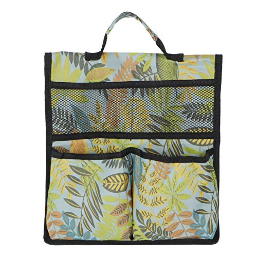 Jadeshay Bolsa de Herramientas Gardener Portable 600D Oxford Fabric Tool Storage Organizador para Asientos de Carro de jardín