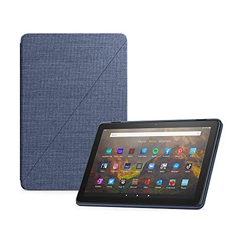 Funda para tablet *Amazon* Fire HD 10 (solo compatible con el tablet de 11.ª generación, modelo de 2021), tela vaquera