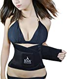 Jenx Fitness Unisex Waist Trainer Great Back Spine Support Reduce Back Pain, Black