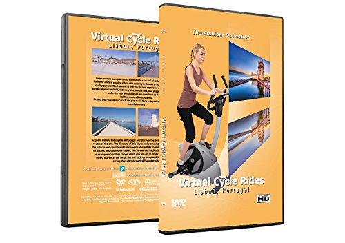Virtuelle Fahrradtouren DVD - Lissabon, Portugal - für Indoor Radfahren, Laufband und Jogging Workouts