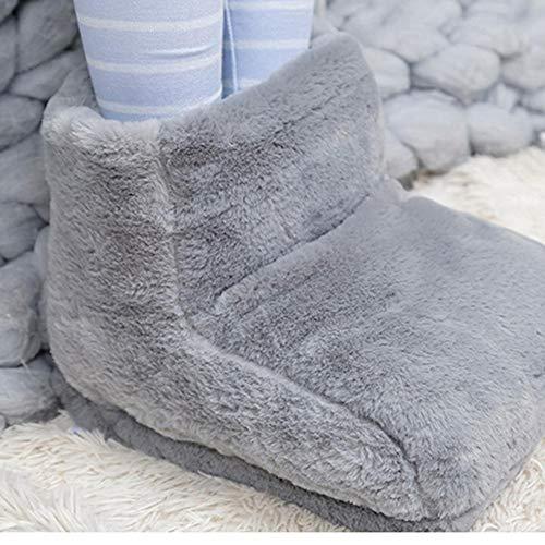 ParZ Pantofole riscaldanti USB Morbido riscaldato Peluche Riscaldato Pantofole Stuoia Cuscino Riscaldato Elettrico Scaldapiedi