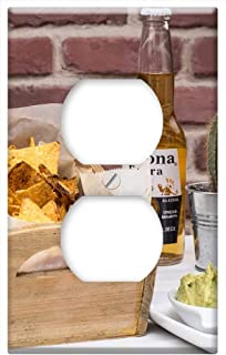 Switch Plate Outlet Cover - Tequila Mexican Food Corona Beer Mexican Food