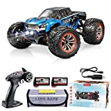 Hosim RC Cars 1:12 4WD 46KM/H High Speed Remote Control Car RC Monster Truck for Kids Adults, All Terrain Offroad Car 40+ Min Play Radio Controlled Car for Boys|2 Batteries|6 Oil Filled Shocks|