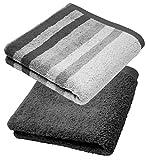 Lashuma - Juego de toallas de mano, manopla de baño, toalla de invitados, toalla de ducha...