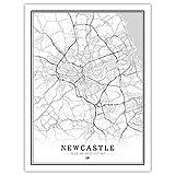 Leinwand Bild,Nordic Uk Großbritannien England Newcastle
