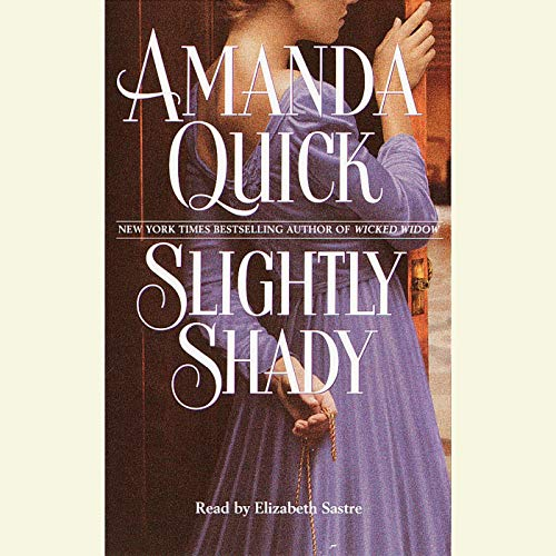 Slightly Shady audiobook cover art
