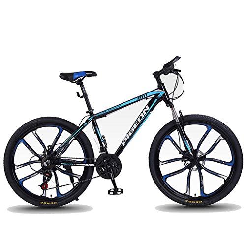 WGYDREAM Mountainbike Bici Bicicletta MTB 26' Mountain Biciclette 24/27/30 Costi Uomini Leggera in Lega di Alluminio Donne/Struttura della Bici Full Suspension Freni A Disco MTB Mountain Bike